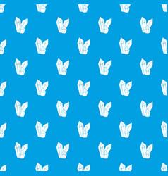 diamonds pattern seamless blue vector image