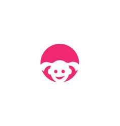 kids logo vector image