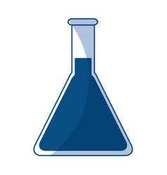 scientific glassware test tube laboratory chemical vector image