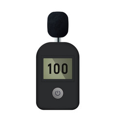 Sound level meter vector