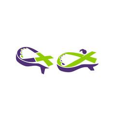 woman shoes health set vector image