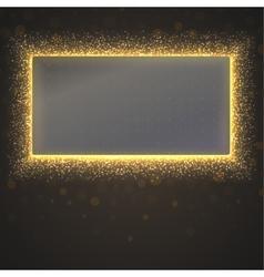 Glittering star dust background vector image