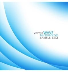 Abstract colorful stylish blue circle wave vector