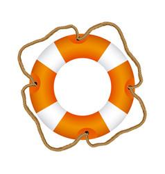 color lifebuoy icon image vector image