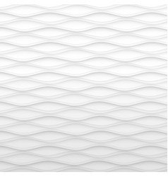 abstract pattern seamless white texture wave vector image vector image