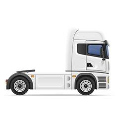 truck semi trailer 01 vector image