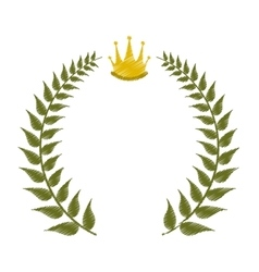 Emblem icon image vector