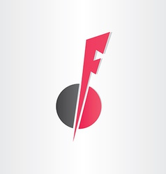 Letter f icon design element vector