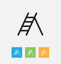 Of instrument symbol on ladder vector