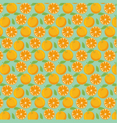 orange pattern background vector image