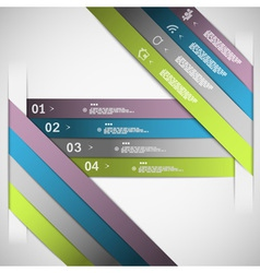 Paper choice template vector image