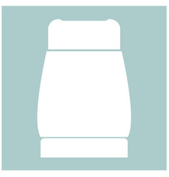 pepper the white color icon vector image