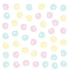 Soft color swirl pattern background vector