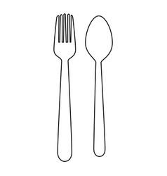 spoon icon image vector image