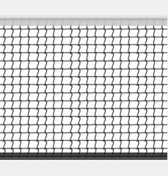 tennis net horizontal seamless pattern background vector image