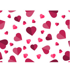 valentines day 14 february seamless pattern vector image vector image