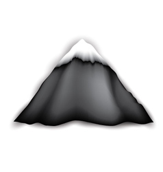 Big Mountain Logo vector image vector image