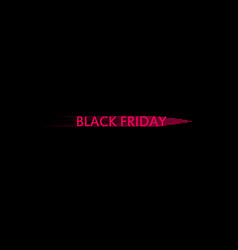 black friday speed iconr on the white background vector image