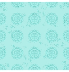 ethnic pattern vintage style vector image