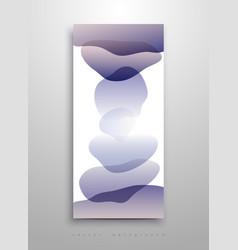 liquid ink alcohol watercolor background spots vector image