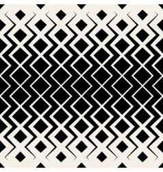Seamless BW Grid Chevron Halftone Pattern vector