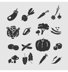 Symbol Vegetables vector image