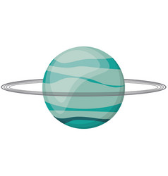 uranus planet space image vector image vector image