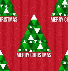 Christmas seamless retro pattern vector image vector image