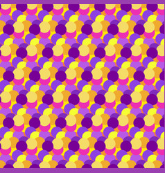 color dot pattern seamless abstract background vector image