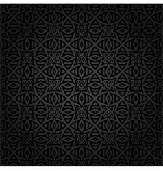 Seamless Keltic pattern vector image