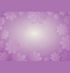 Christmas composition in light purple hue with vector