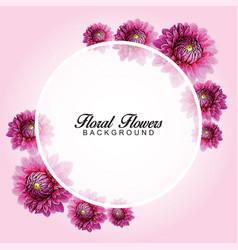 flower background 2 vector image