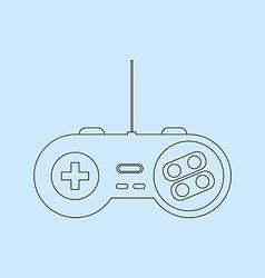 Gamepad Joystick Icon vector