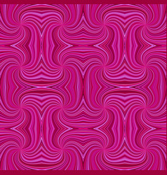 pink hypnotic abstract seamless striped spiral vector image