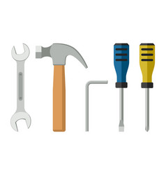 Tools flat icon vector