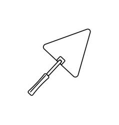 trowel icon vector image