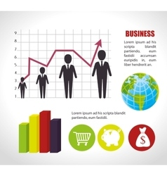 Business and global economy vector