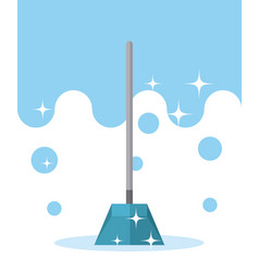 Dustpan cleaning product vector