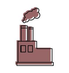 Factory icon image vector