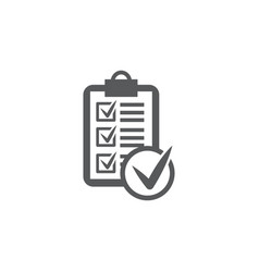 rules icon on white background vector image