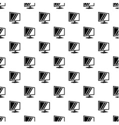 tv pattern seamless vector image