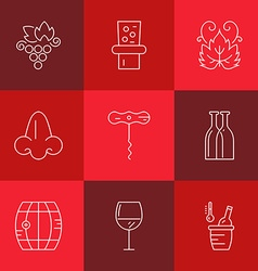 Wine Industry vector image