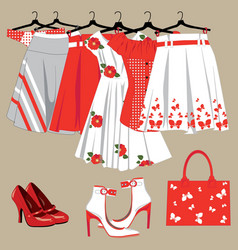 womens Clothing vector image