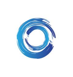 water wave logo vector image vector image