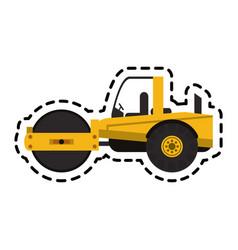 construction trucks design vector image