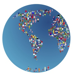 globalisation vector image