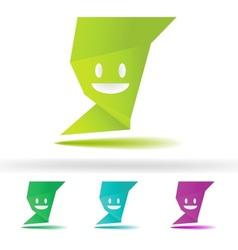 Abstract speech smile fece EPS8 vector image