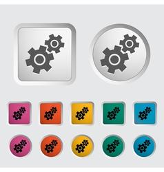 Gear icon 2 vector