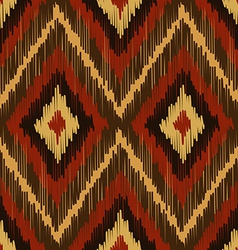 Abstract Modern Ethnic Seamless Fabric Pattern vector image vector image