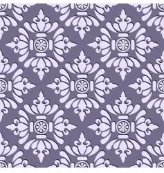 seamless stylish wallpaper vector image vector image